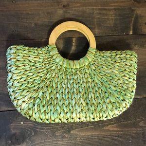 Handbags - Woven Corn Husk Purse
